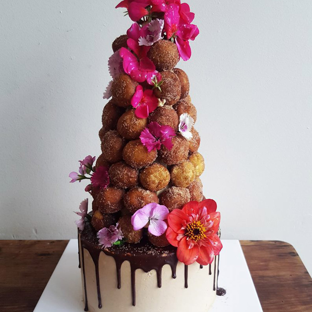 Doughnut Tower Party Cake