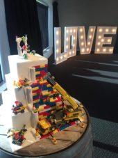 Wedding Lego Cake