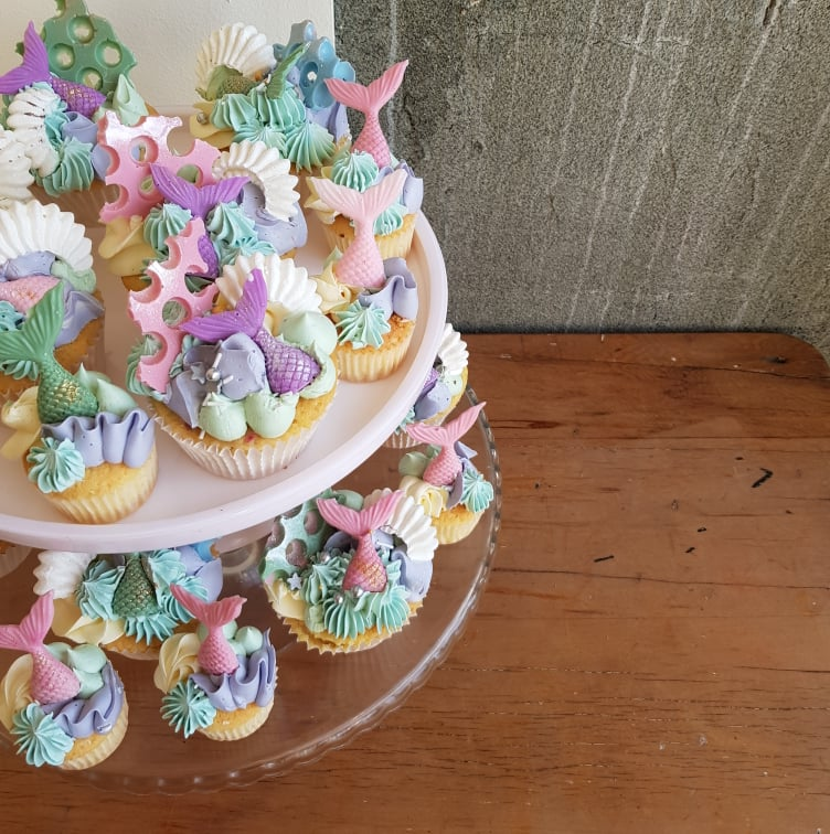 Mermaid Cupcakes – Mini
