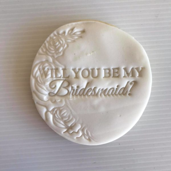 Bridesmaid Cookie, The Cake Eating Co, Christchurch