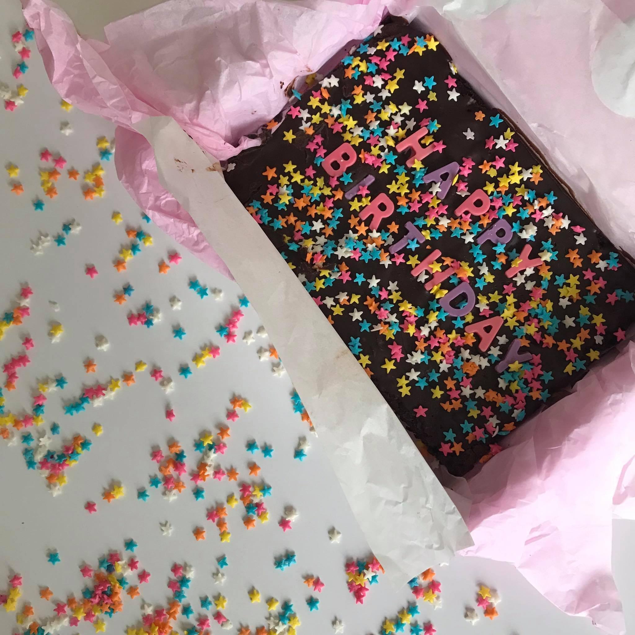 Nationwide: Brownie Message Box – Happy Birthday